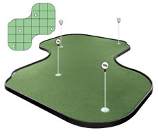 Tour Links Indoor/ Outdoor Portable Putting Green Putting Green