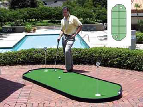 Tour Links 4x10 Indoor/Outdoor Putting Green