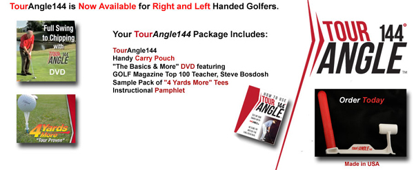 tour angle 144 golf training aid