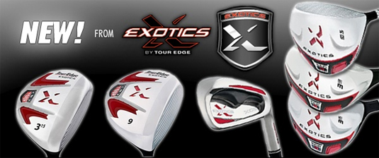 Tour Edge Exotics XCG-3 Golf Clubs