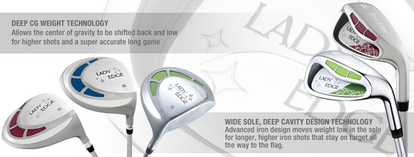 2013 Tour Edge Ladies Edge Complete Golf Set
