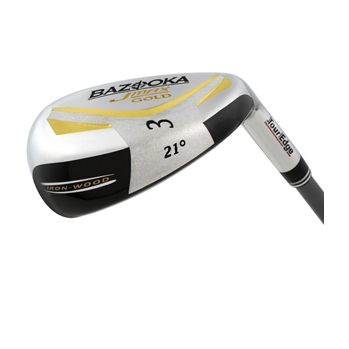 Tour Edge Bazooka JMAX Gold Iron Wood