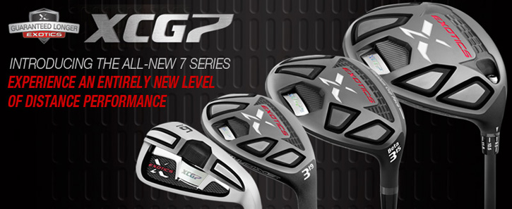 tour edge exotics xcg-7 golf clubs