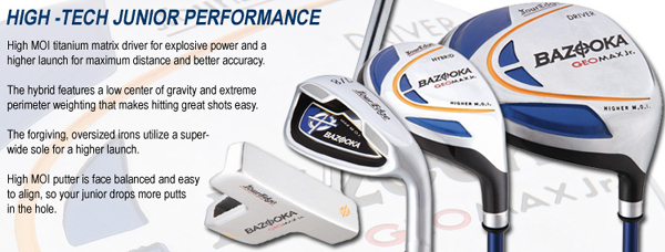 Tour Edge GeoMax Jr. Set