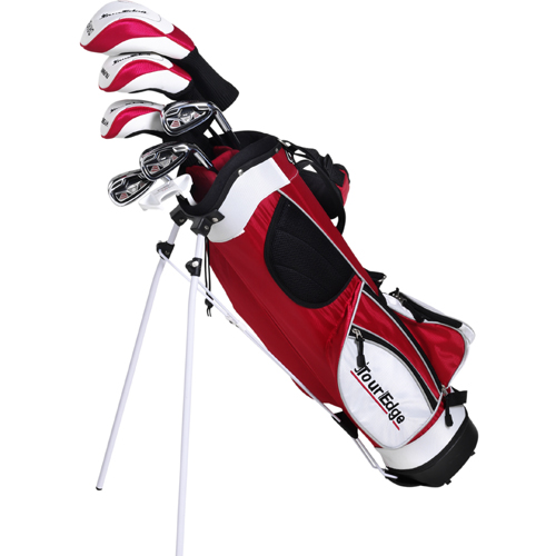 Tour Edge HT Max-J Junior Golf Set (7 Club) - Red Age 9-12