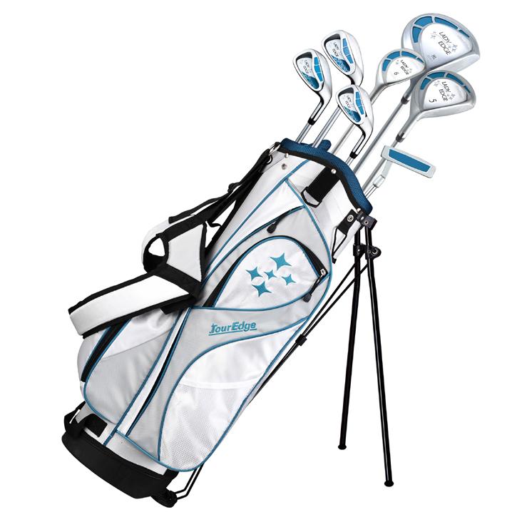 Image of Tour Edge Ladies Edge Starter Golf Set (7 Piece Half Set)