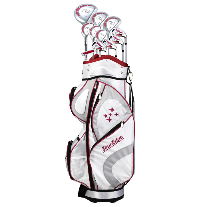 Tour Edge Ladies Edge Starter Golf Set (19 Piece Full Set)