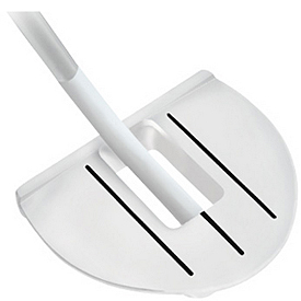 Tour Edge T-Balance #6 Belly Putter - White