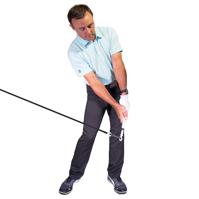 Tour Striker Power Impact Pro 2.0 - Golf Training Aid
