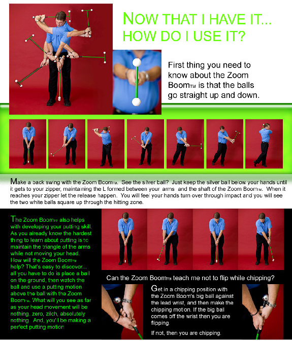 Zoom Boom Instructions