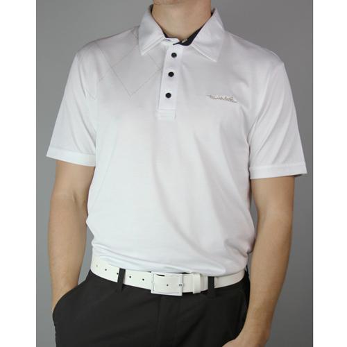 Travis Mathew Biggs Polo Shirt - Mens White