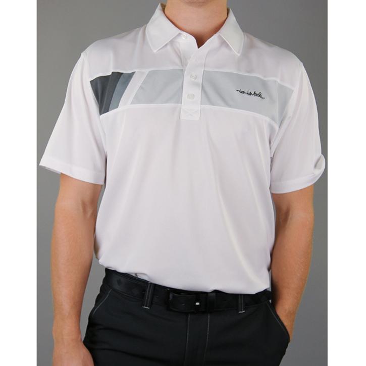 Travis Mathew Brando Golf Shirt - White