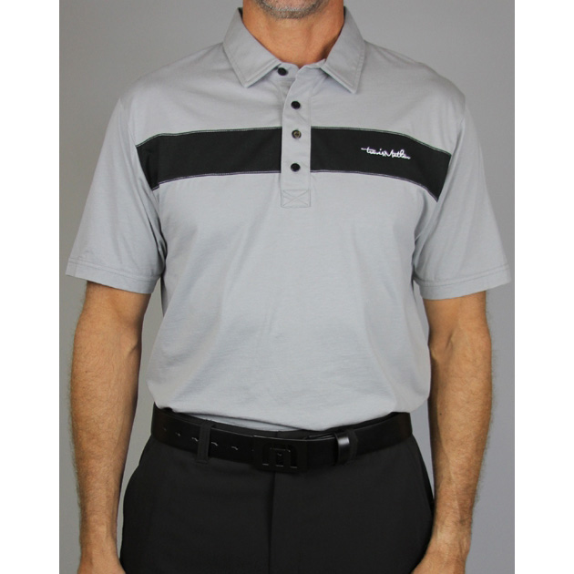 Travis Mathew Chet Golf Polo - Grey