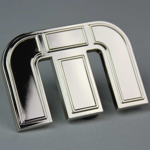 Travis Mathew Icon Belt Buckle - Shinny Nickel Image