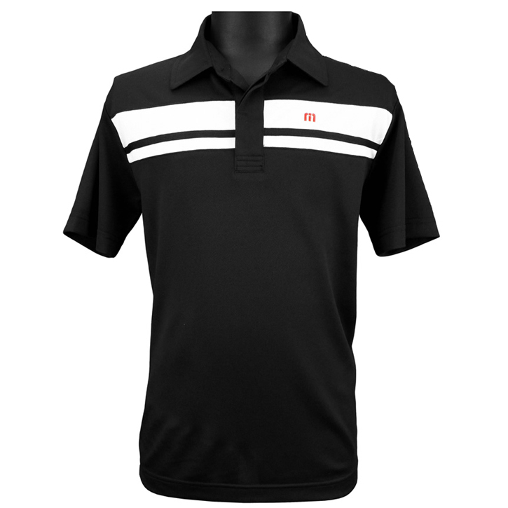 Travis Mathew J-Timer Junior Golf Shirt - Black