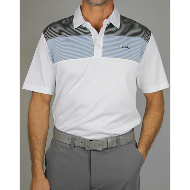 Travis Mathew Mommasulo Golf Polo - White
