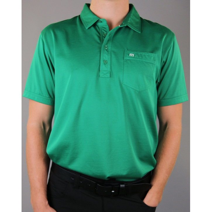 Travis Mathew OG Golf Shirt - Jolly Green