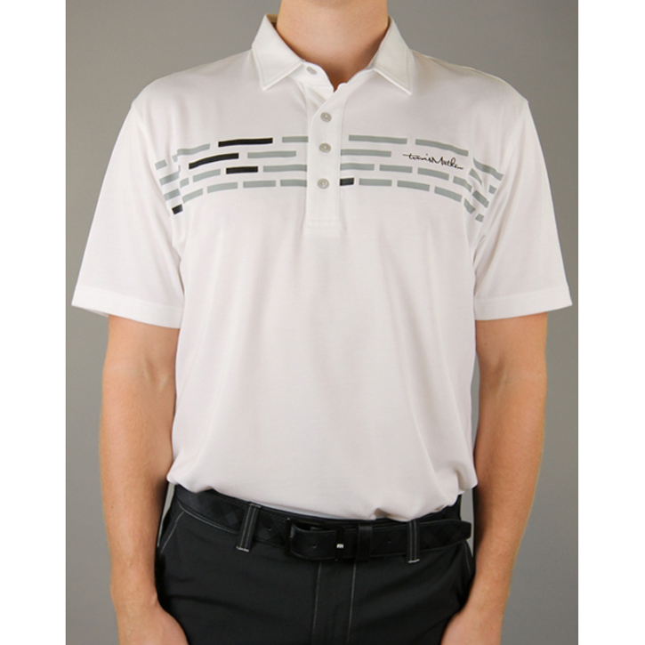 Travis Mathew Tower Golf Shirt - White