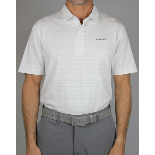 Travis Mathew Tribal Golf Polo - White