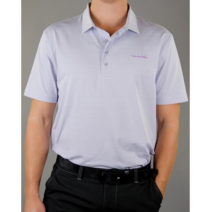 Travis Mathew Tribal Golf Shirt - Lavender