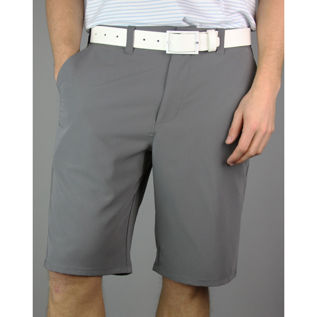 Travis Mathew Turner Golf Shorts - Dark Grey
