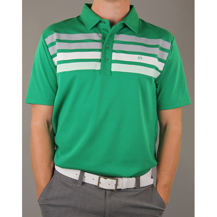 Travis Mathew Wilson Golf Shirt - Jolly Green