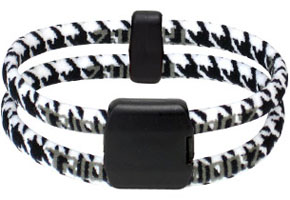 Trion Z Houndstooth Bracelet At Intheholegolf Com