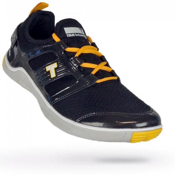 True Linkswear True Lyt Breathe Golf Shoes - Mens Black/Orange