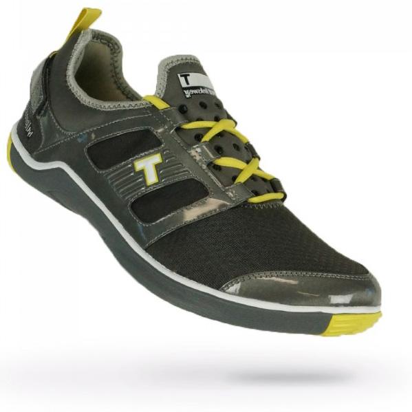 True Linkswear True Lyt Breathe Golf Shoes - Mens Grey/Highlighter