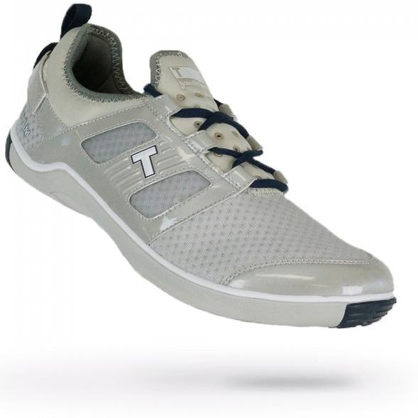 True Linkswear True Lyt Breathe Golf Shoes - Mens Grey/Navy
