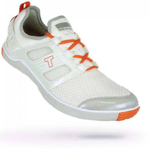 True Linkswear True Lyt Breathe Golf Shoes - Mens White/Salmon