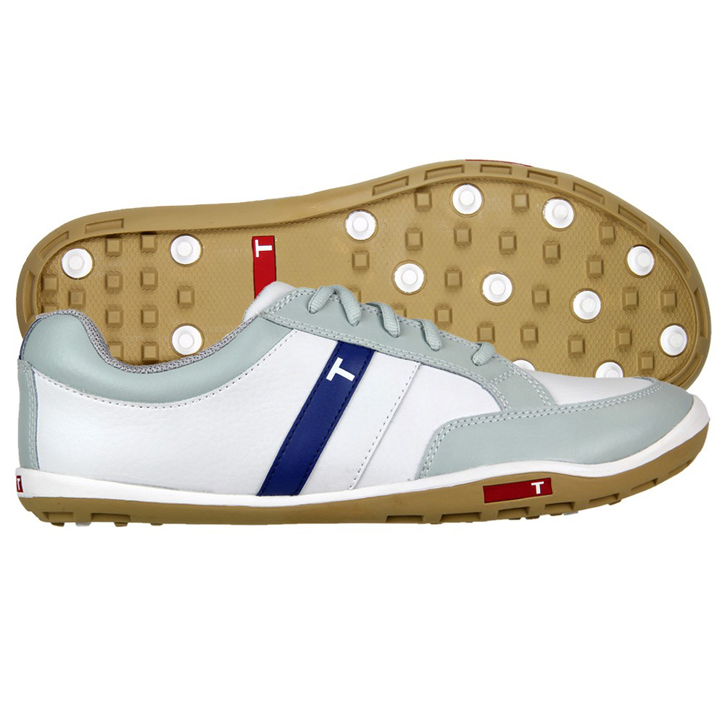 True Linkswear True phx Golf Shoes - White/Grey/Sand/Navy