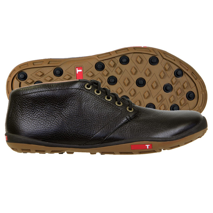 True Linkswear True Chukka Golf Shoes - Black/Mud