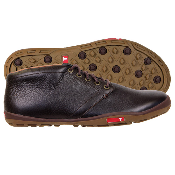 True Linkswear True Chukka Golf Shoes - Brown/Mud