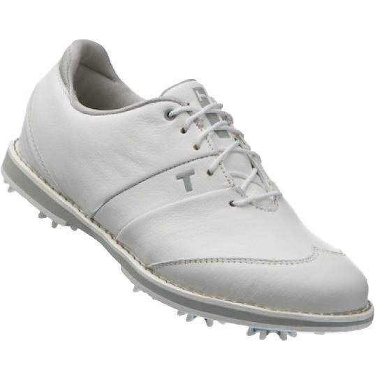 True Linkswear True Fairways Golf Shoes - Womens White/Grey