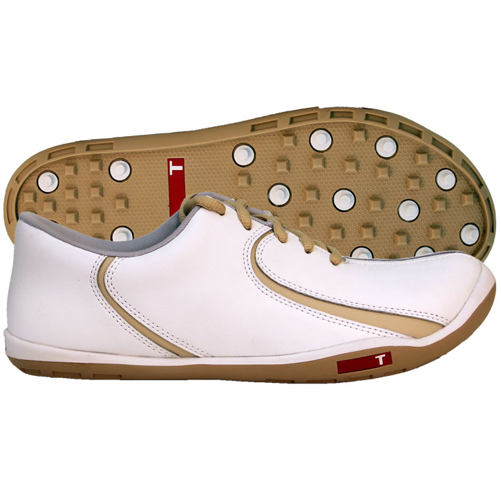 Home > True Linkswear True Isis Womens Golf Shoes - White/Prosecco