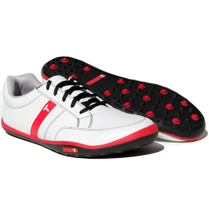 True Linkswear True phx Golf Shoes - White/Grey/Sand/Navy at
