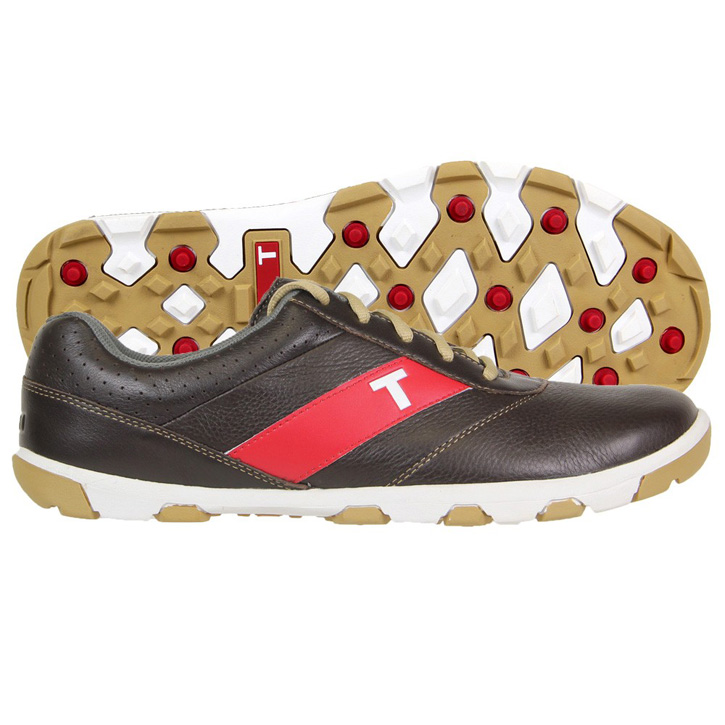 True Linkswear True Proto Golf Shoes - Brown/Sand
