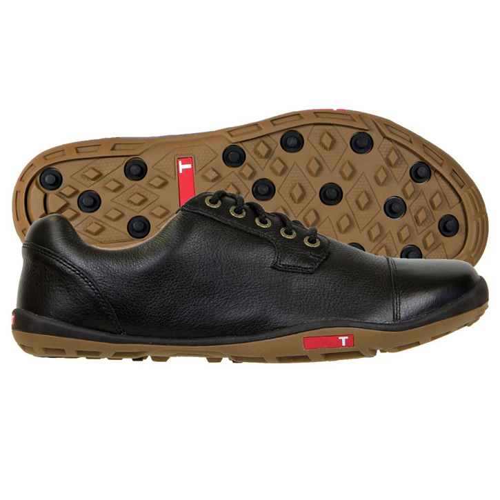 True Linkswear True Stealth Golf Shoes - Black/Mud