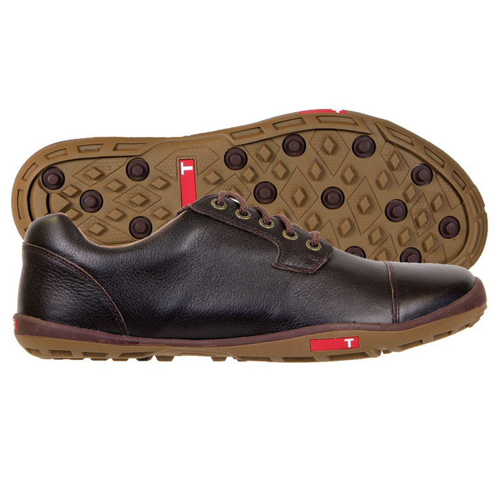 Image of True Linkswear True Stealth Golf Shoes - Brown/Mud