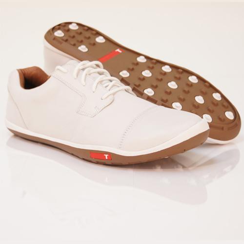 True Linkswear TRUE Stealth Golf Shoes - Mens White/Mud