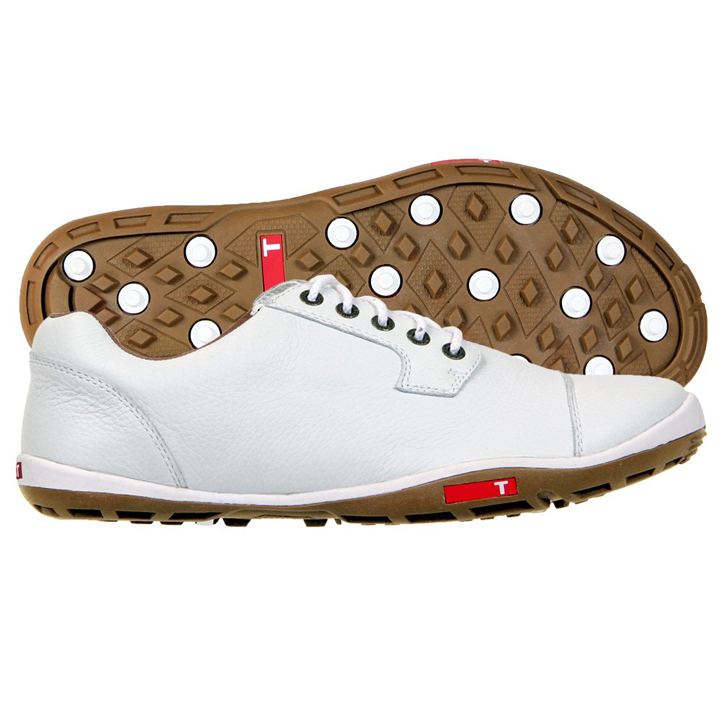 True Linkswear True Stealth Golf Shoes - White/Mud