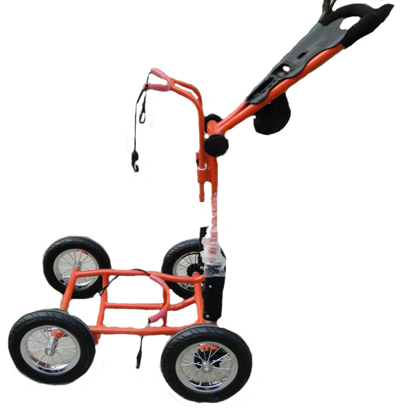 Image of Upright Caddy RASR Golf Push Cart