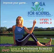 Yoga For Golfers Level 1 and Level 2 DVD