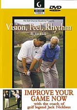 Jim Flick Vision  Feel  Rhythm DVD