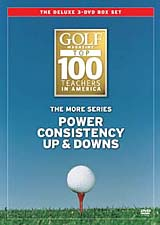 Golf Magazine Top 100 Teachers: The More Series 3 DVD Set