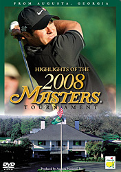 2008 MASTERS TOURNAMENT (DVD)