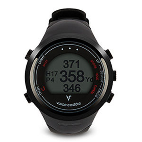 Voice Caddie T1 Hybrid GPS Golf Watch - Black