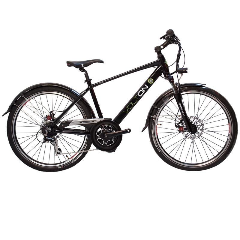 2017 Volton El Legs Express Electric Bicycle - Deep Blue