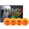 2016  Volvik Vivid Golf Balls (1 Dozen) - Matte Orange